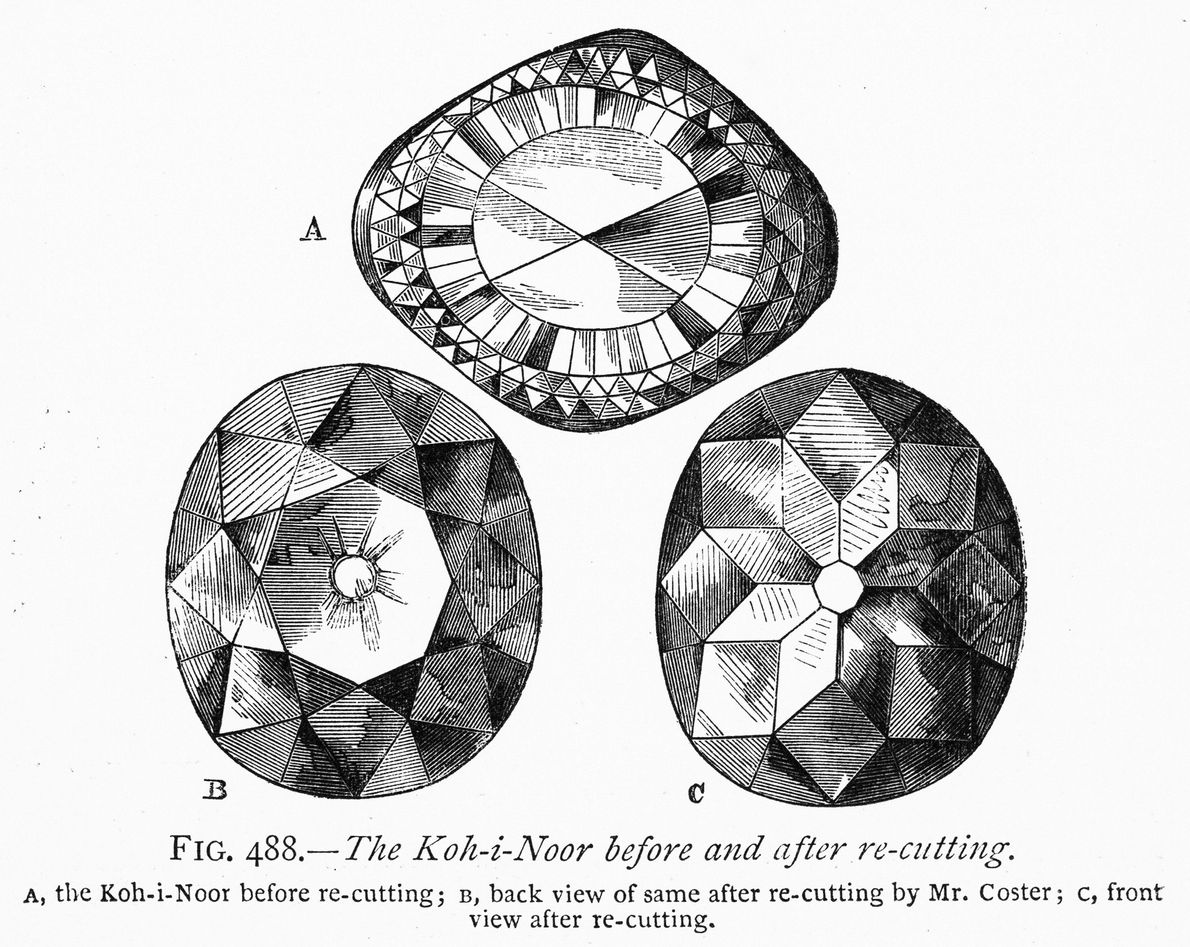 One legend told of the Koh-i-Noor diamond is that only women should wear it, and harm ...