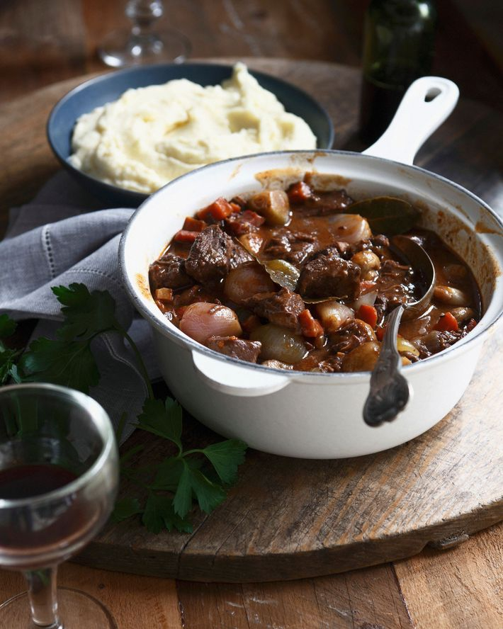 Beef daube, a classic stew dish across France.