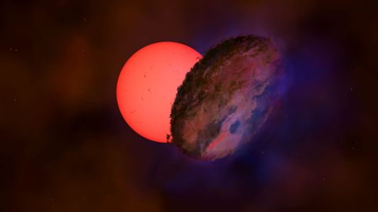 Mystery object blotted out a giant star for 200 days