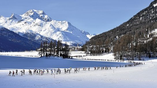The 47th Engadin Skimarathon, Switzerland.