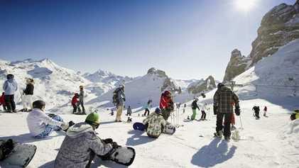 French Alps: Snow white