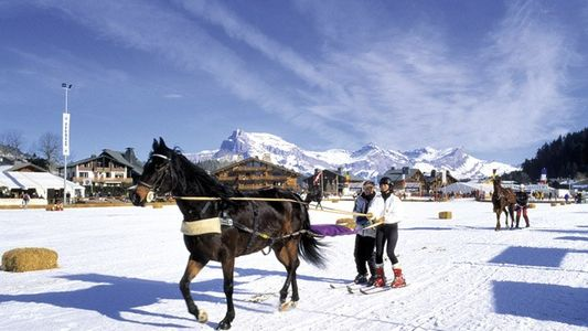 France: Ski joering