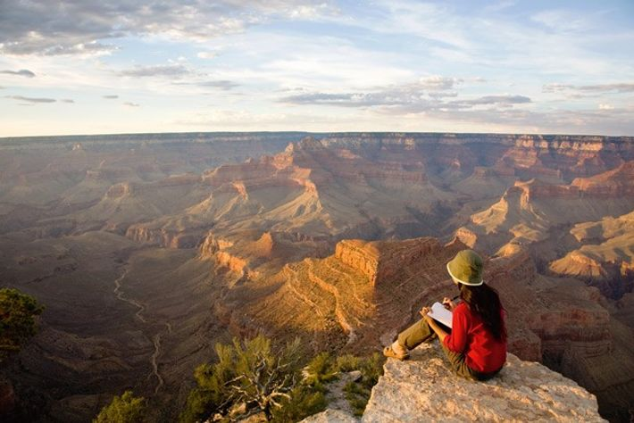 Rim of Grand Canyon