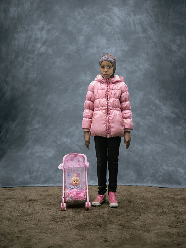 "Isra Ali Saalad moved from Somalia to Sweden with her mother and two siblings. ""The reason ..."