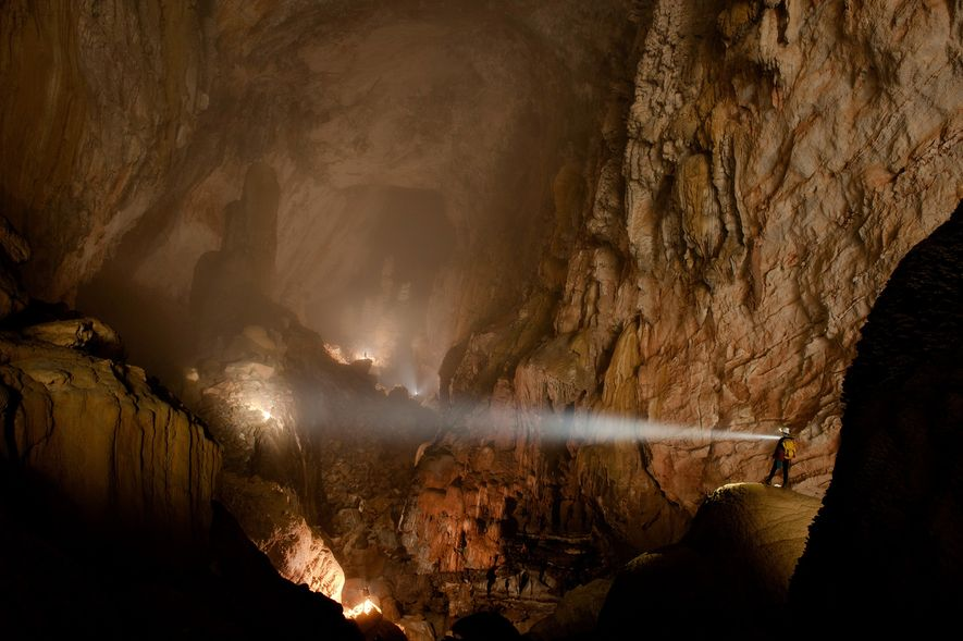 There is plenty to discover in Hang Son Doong cave in Phong Nha-Ke Bang National Park, ...