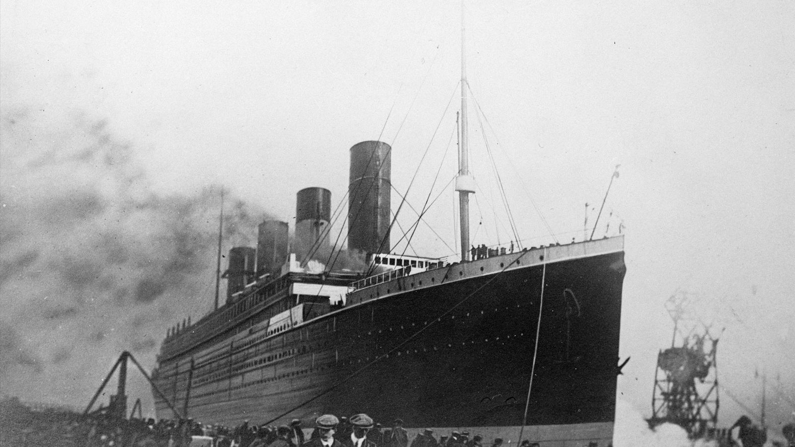 RMS Titanic was outfitted with wireless technology that allowed passengers to send messages while at sea.