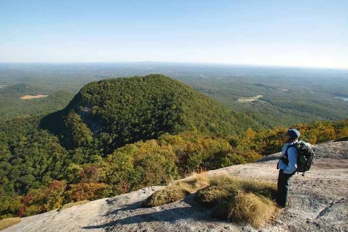 View from the summit of Table Rock.