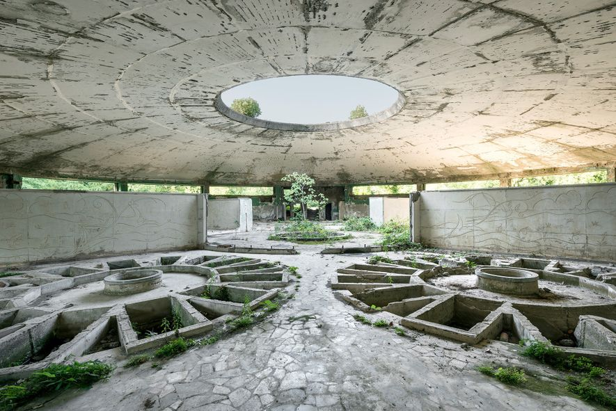 See Ominous Photos of Crumbling Ex-Soviet Spa Resorts