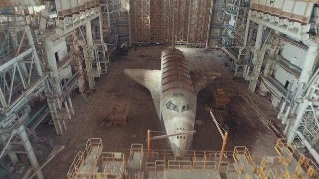 Creepy Soviet Space Shuttles Are Sitting in a Kazakhstan
