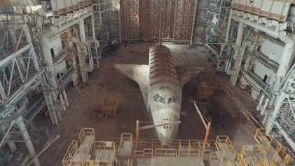 Creepy Soviet Space Shuttles Are Sitting in a Kazakhstan Desert
