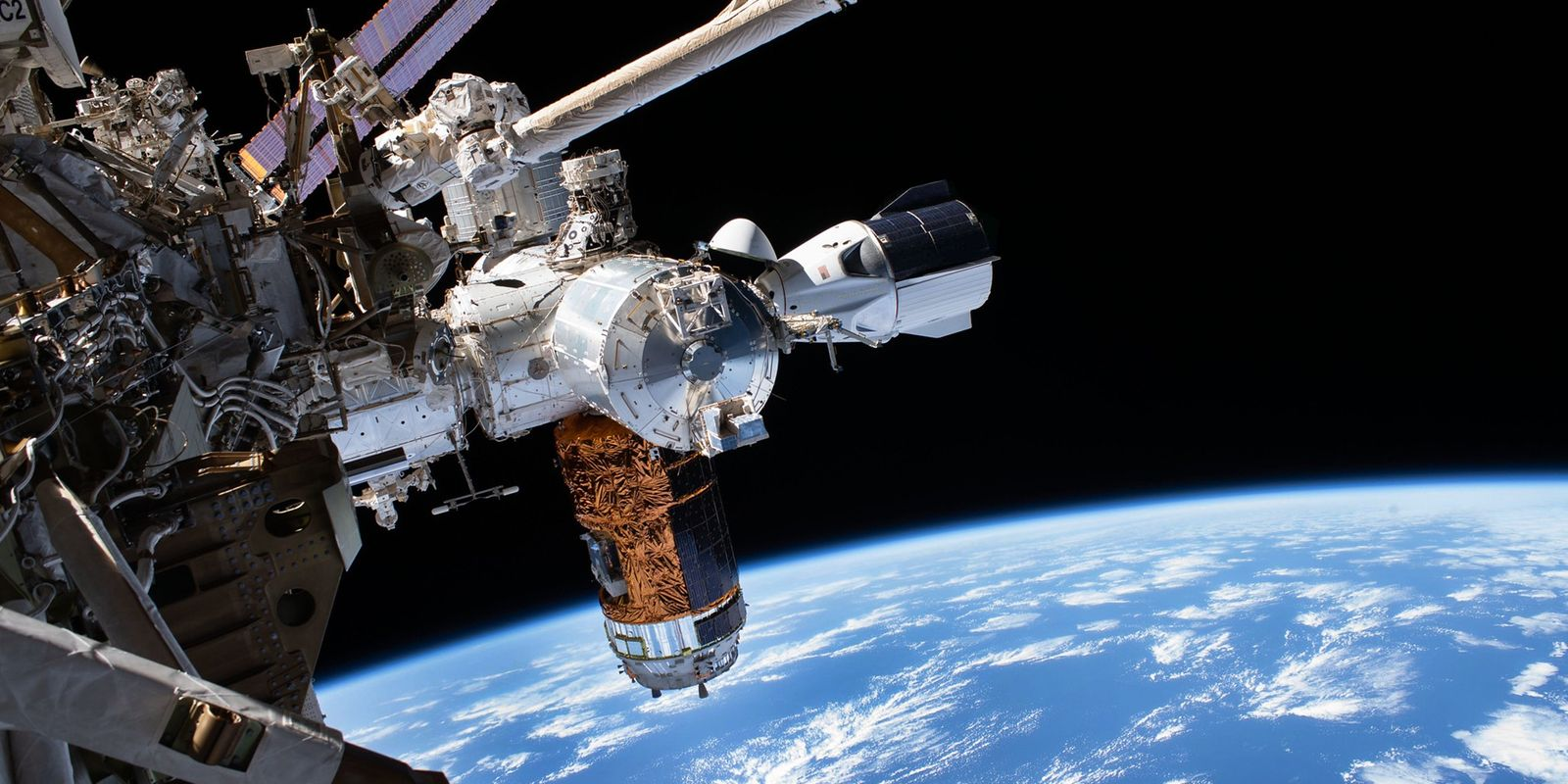 Astronauts return to Earth in SpaceX capsule. Revisit their mission aboard the space station.