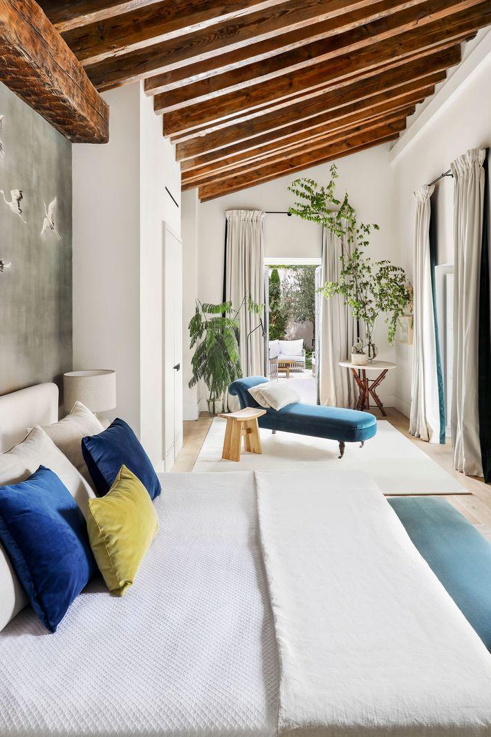 Junior Superior Suite at Hotel Bodega Tío Pepe in Jerez de la Frontera. The rooms feature high-ceilinged ...