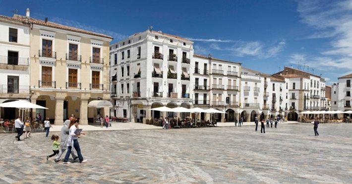 Plaza Mayor, Caceres.