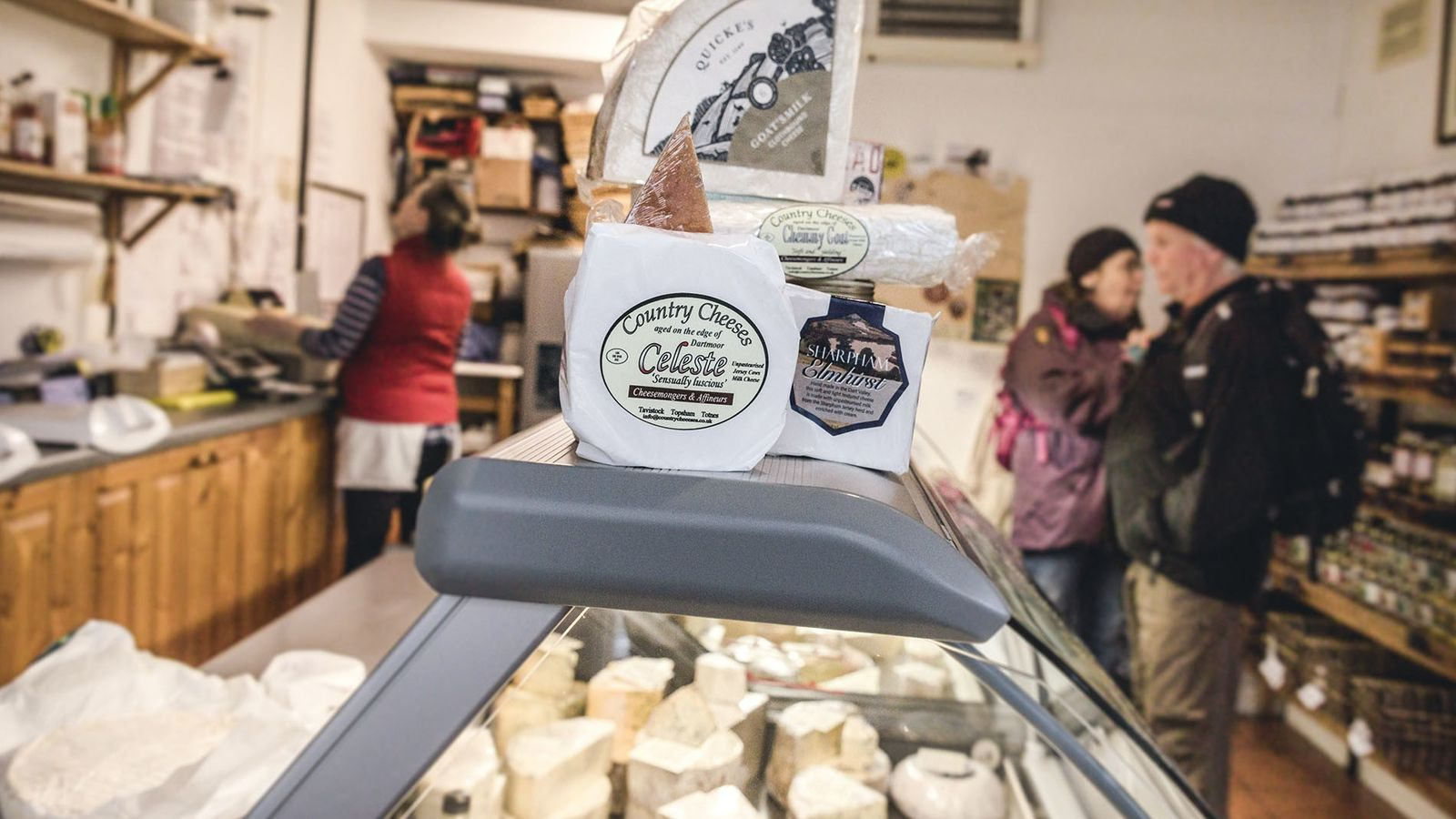 Gary and Elise Jungheim of Country Cheeses have sold British cheese in Devon for more than ...