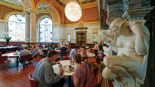 The V&A Café at the Victoria & Albert Museum is the world's first museum cafe. It opened in ...