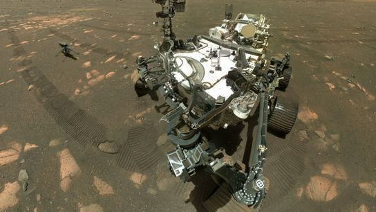 NASA's Perseverance Mars rover has collected its first sample of rock for return to Earth, part ...