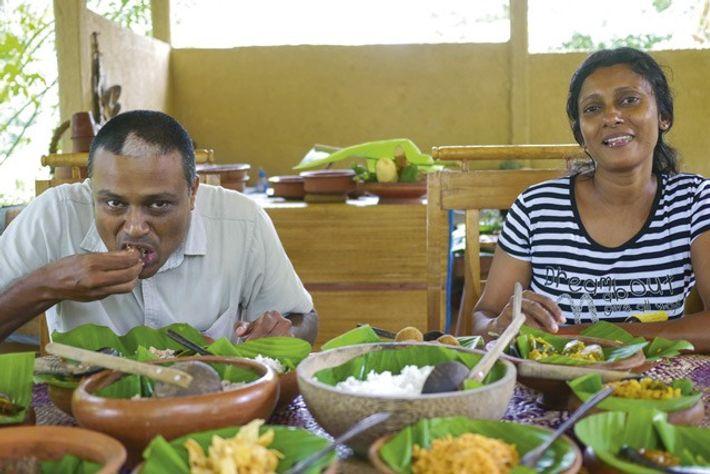 Manoj and Deevi Silva