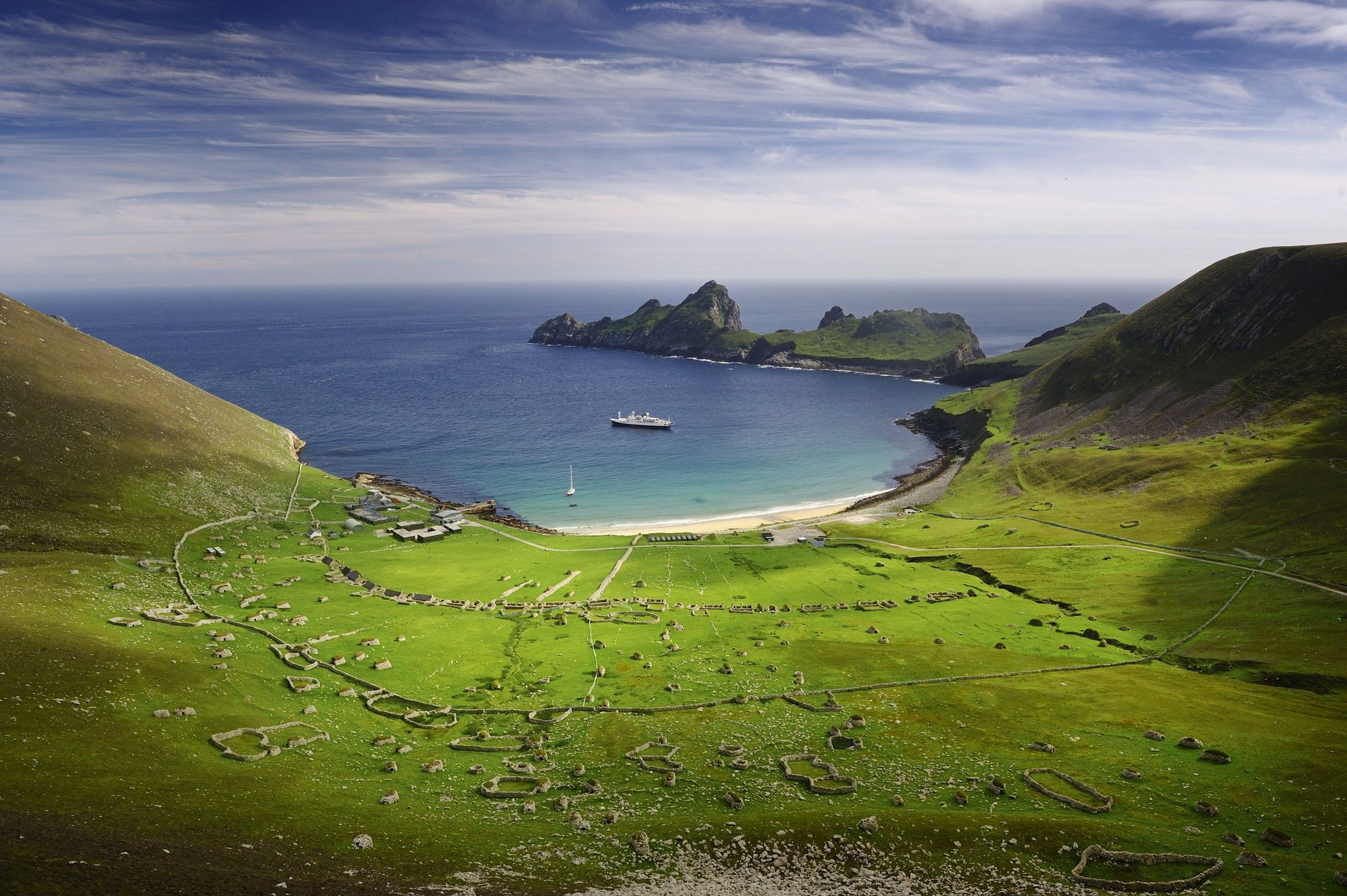 St Kilda is a group of islands, 40 miles west of the Outer Hebrides off the ...
