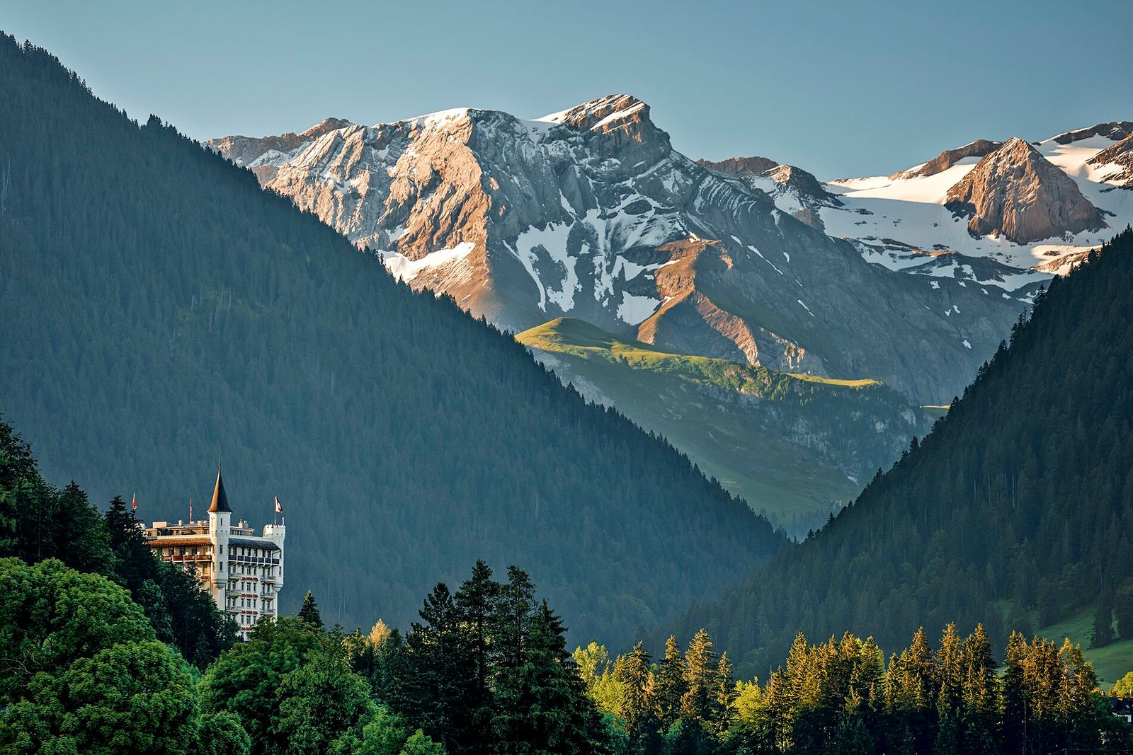 Gstaad is a picture-perfect village nestled in the Swiss Alps, known for its glitzy bars and designer ...