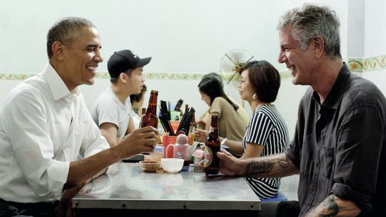 President Barack Obama appeared on Anthony Bourdain's television series Parts Unknown in an episode, set in ...