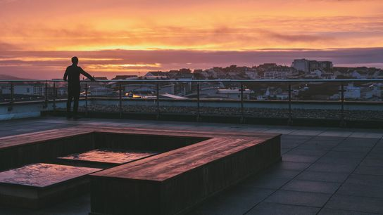 With views across Cornwall's famous Fistral Beach, the winner and a guest will be able to savour ...