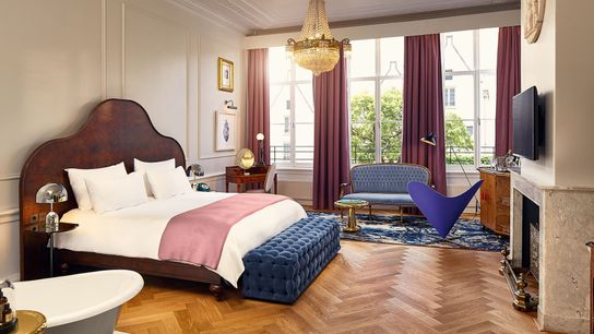 Room at Pulitzer Amsterdam