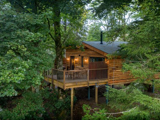 Win a four-night stay at a luxury treehouse in Scotland