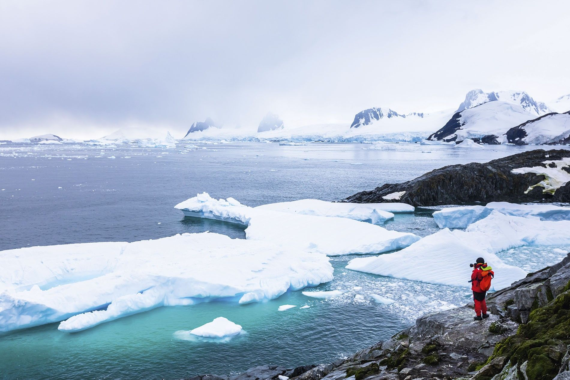 The dramatic frozen landscapes of Antarctica are a photographer's dream.