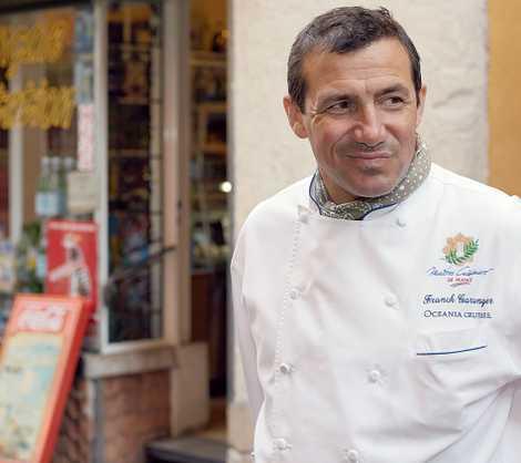 Franck Garanger, Oceania Cruises' corporate executive chef.