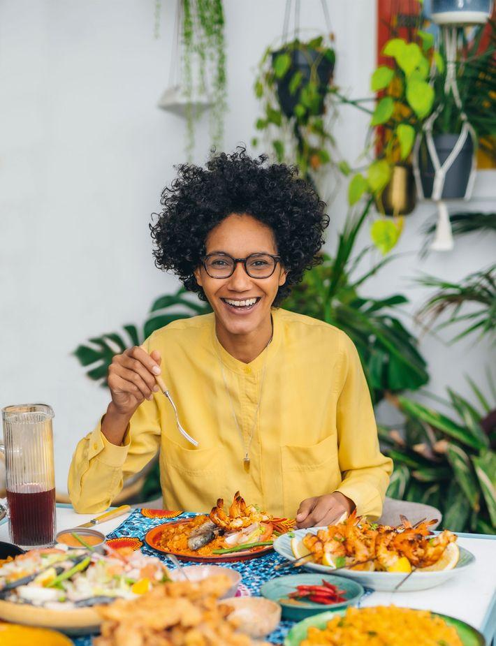 Zoe Adjonyoh is the author of Zoe's Ghanian Kitchen.