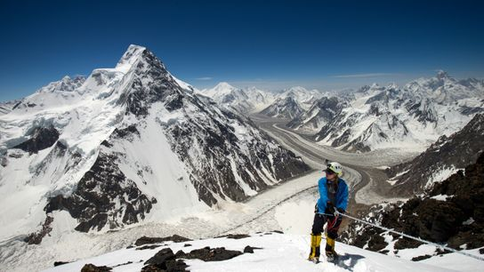 Vanessa says that climbing K2, the world's second highest mountain, was her most challenging expedition.