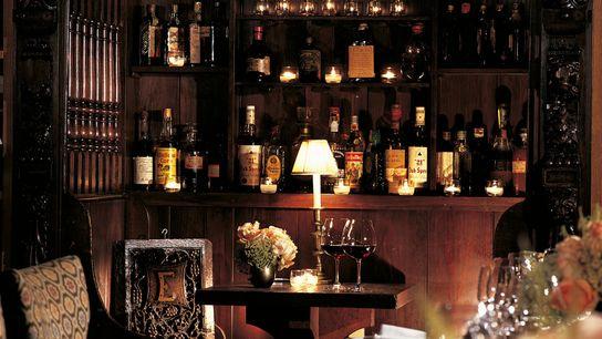 The slick 21 Club in Manhattan is a former 1920s speakeasy.