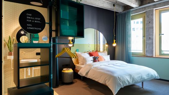 25hours Hotel The Circle, a Cologne offshoot of the quirky German hotel chain.
