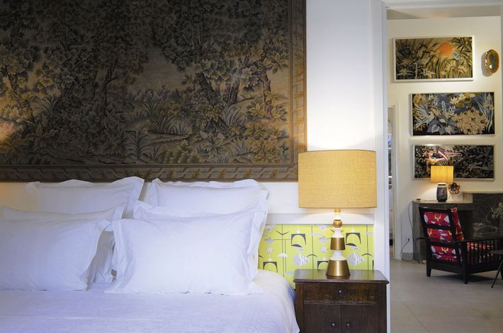 Room at Beit El Hamra, a five-star locally-run hotel located in the dynamic district that was ...