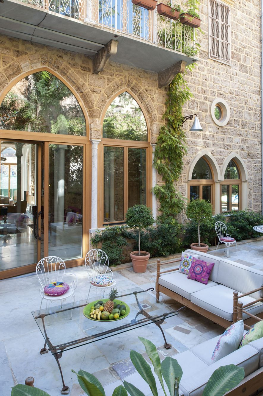 Exterior at Arthaus Gemmayze boutique hotel in the boho 'hood of Gemmayze, set to open its doors by the end of the year.