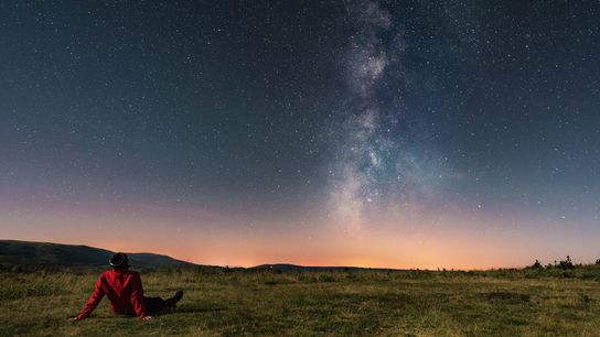 The most important thing when starting to stargaze is to first, just drink in the view, ...
