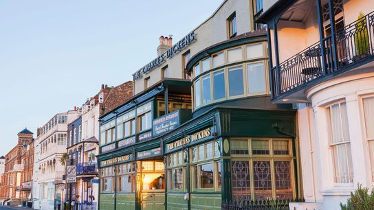 The Charles Dickens Pub in Broadstairs.