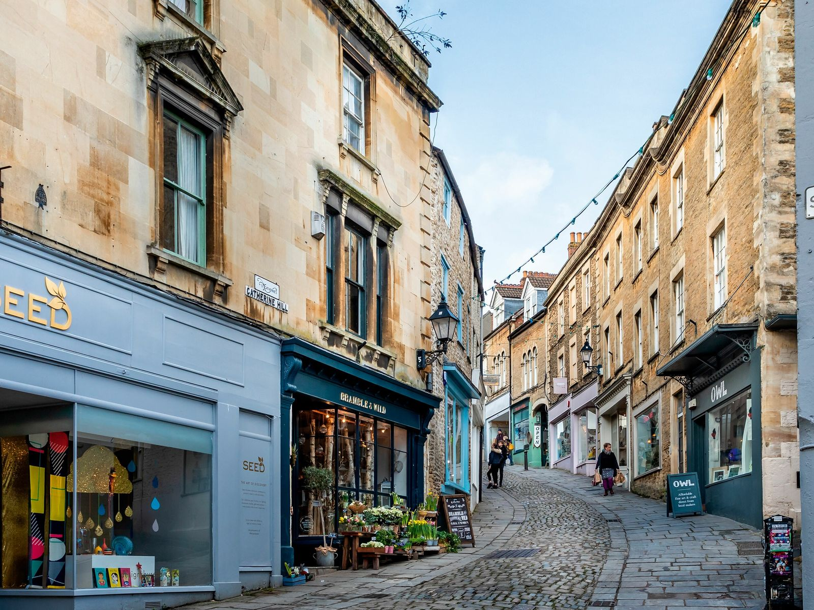 Half an hour's drive between Bath and the arty town of Bruton, Frome is the ideal ...