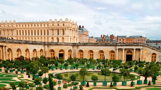 Versailles and gardens