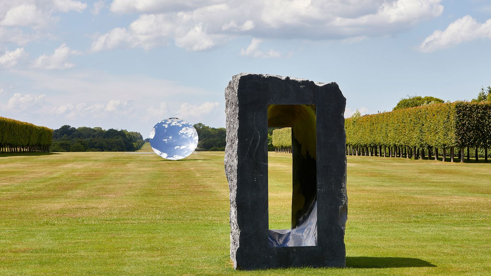UK's largest exhibition of outdoor sculptures by the Turner Prize winner Anish Kapoor is finally open ...