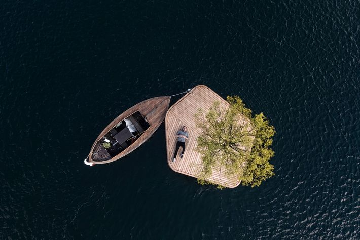 Copenhagen is set to introduce three public floating islands, which you can sail out to by ferry or ...