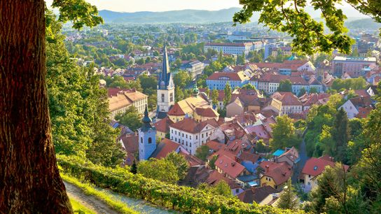 Ljubljana is one of the European cities putting the environment at the top of its agenda ...
