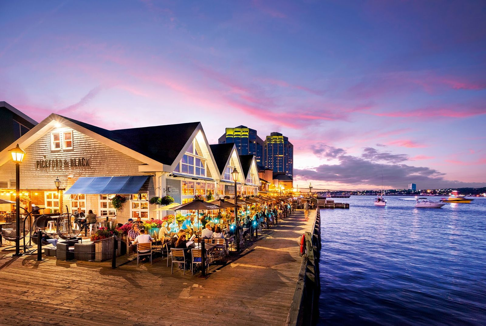 Halifax, the capital of Nova Scotia, draws heavily on its maritime heritage, and the waterfront district ...