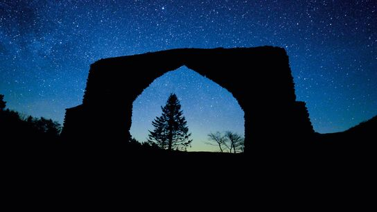 Astronomy trail across the Cambrian Mountains