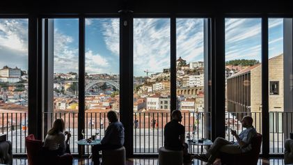 The new wine museum transforming Porto's historic warehouse district