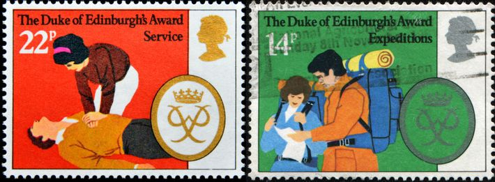 A series of commemorative stamps in 1981 to celebrate the 25th anniversary of the scheme evoked the ...