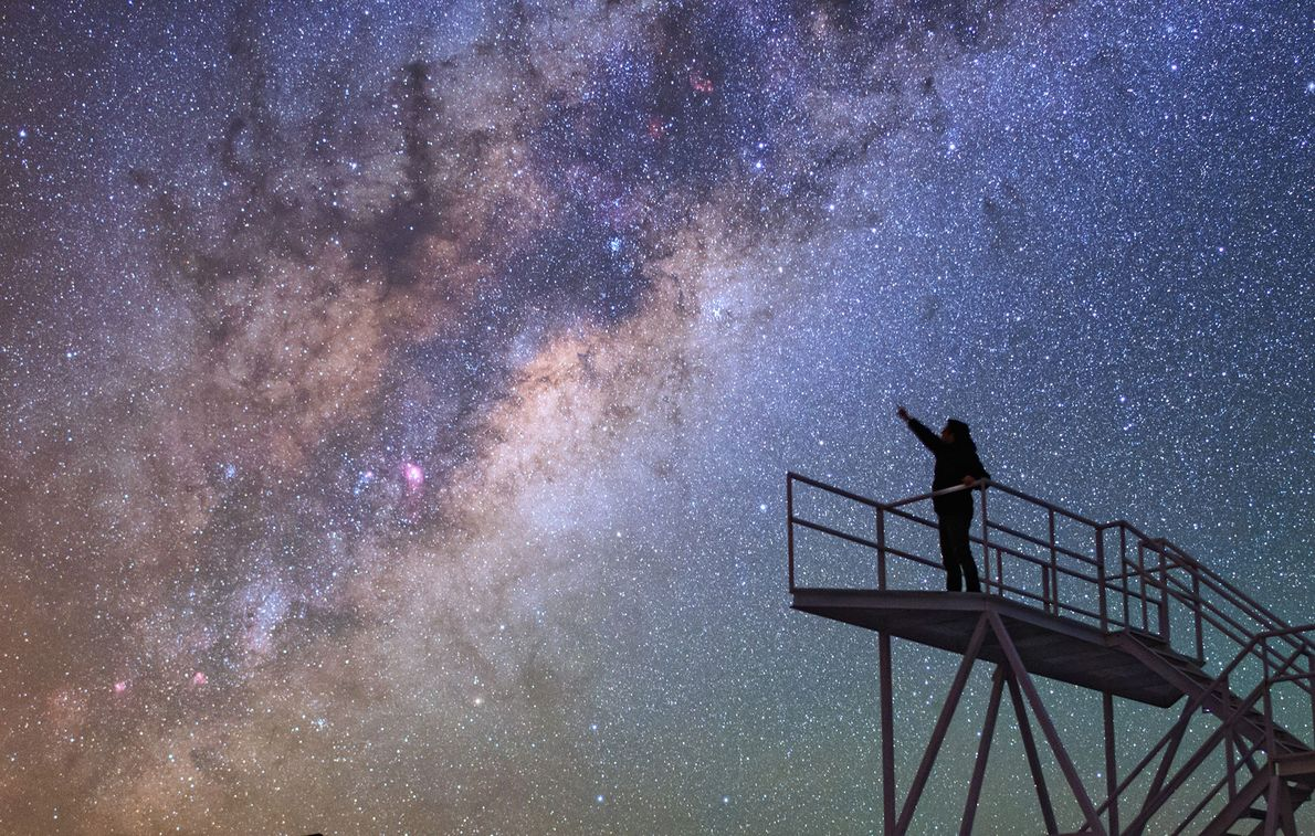 In Chile, the Cerro Paranal Observatory proves to be a great spot for stargazing.  ...