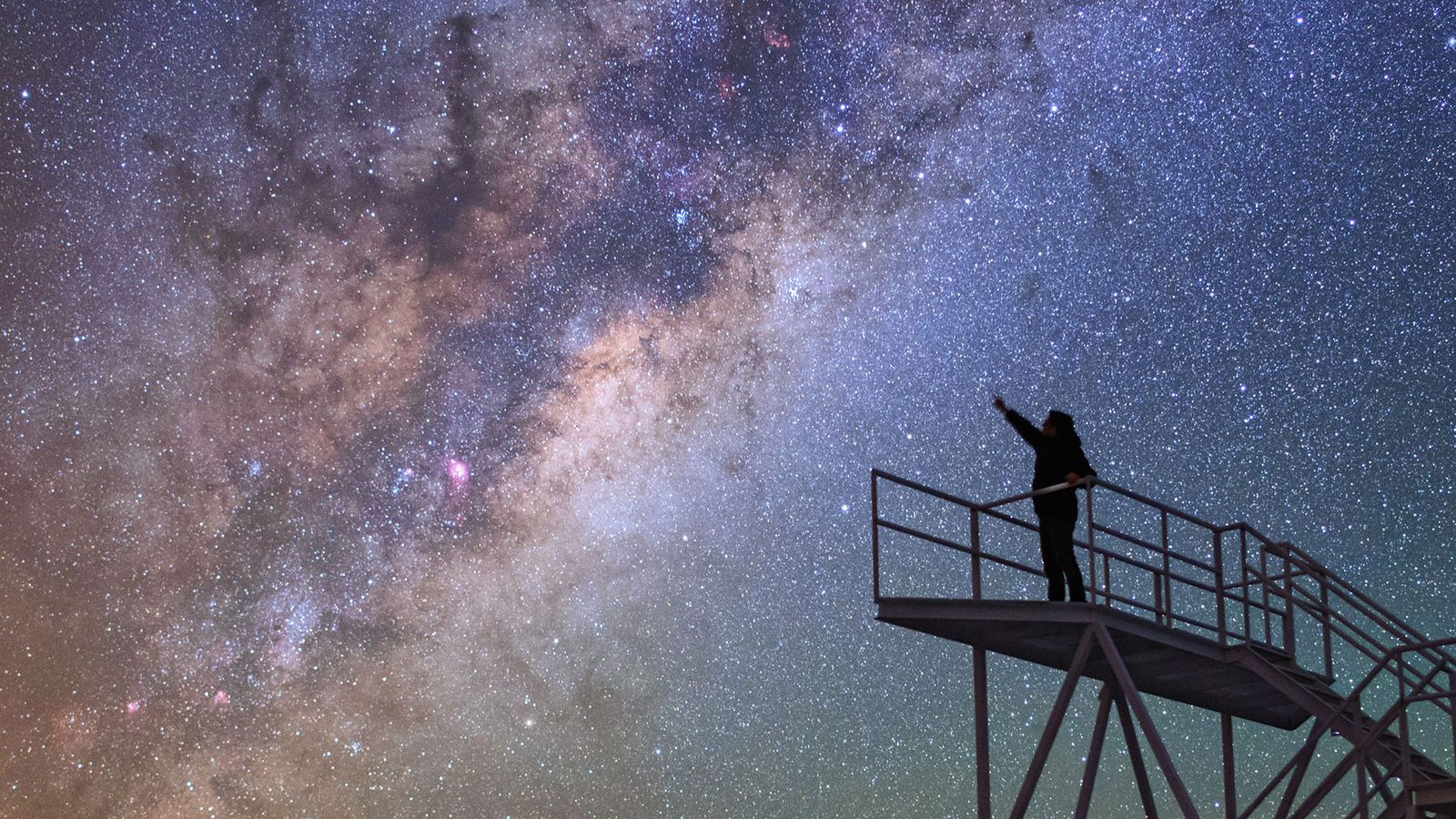 In Chile, the Cerro Paranal Observatory proves to be a great spot for stargazing.