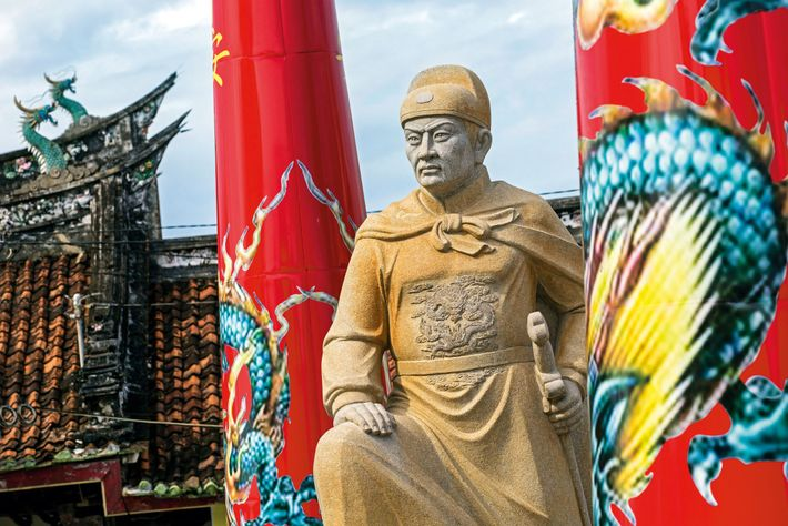 At the Tay Kak Sie Chinese Taoist temple in Semarang on the island of Java, Indonesia, ...