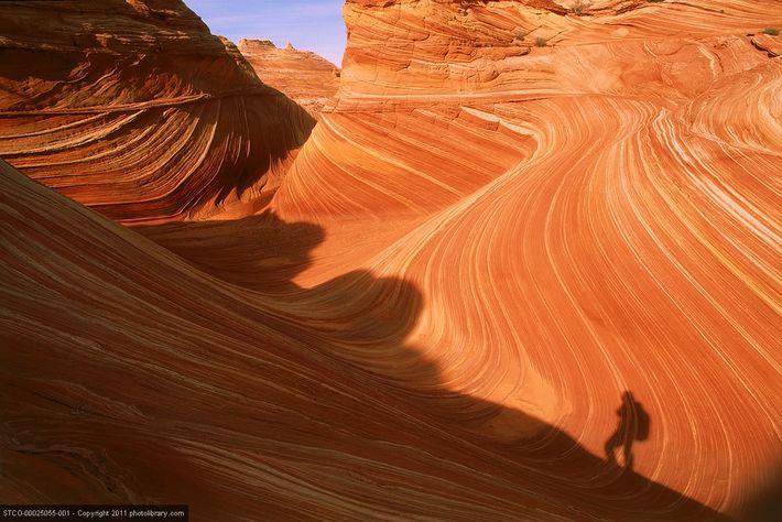 The Vermillion Cliffs of Arizona.